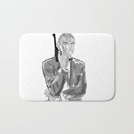 The first secret agent (Connery) Bath Mat