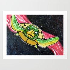Living inside a turtle's dream Art Print