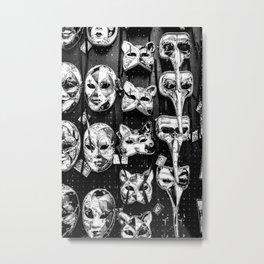 Carnevale Metal Print
