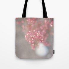 pink coral bells Tote Bag