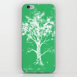 Green Tree iPhone Skin