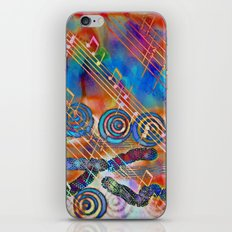 Musical Doodle iPhone & iPod Skin