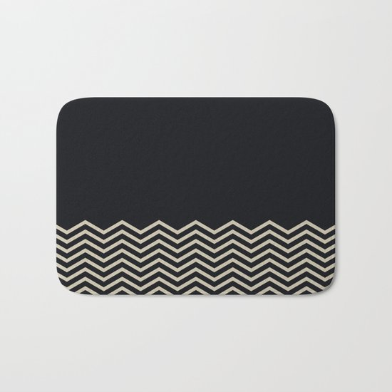 Chevron Bath Mat