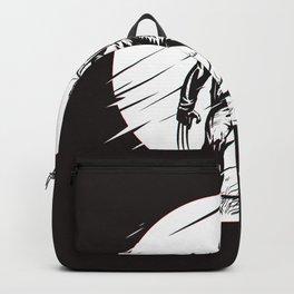 Logan Glitch art Backpack
