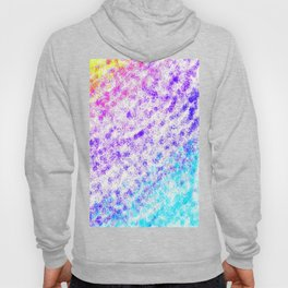 Totally Awesome 80s Colorful Ombre Hoody