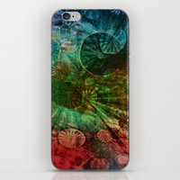 secret life iPhone & iPod Skins featuring The Secret Life of Plankton by Klara Acel