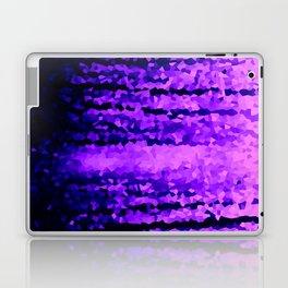 Purple Crystal Pixels Laptop & iPad Skin