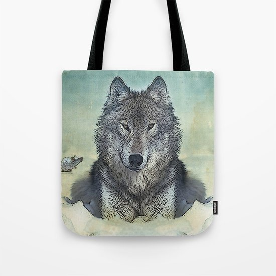 Scout and tiny Tote Bag