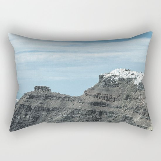 Santorini, Greece 16 Rectangular Pillow