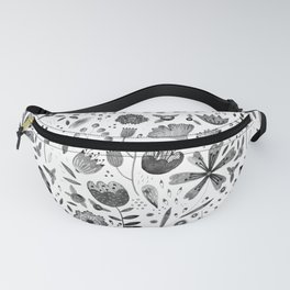 Inky Autumn Hedgerow Fanny Pack