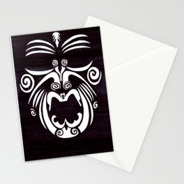 Tribal Mask Stationery Cards