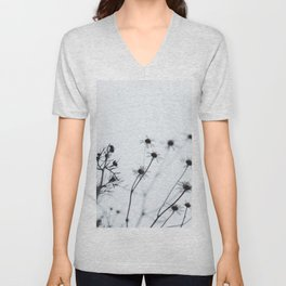 wildflower Unisex V-Neck
