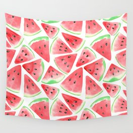 Watermelon slices pattern Wall Tapestry