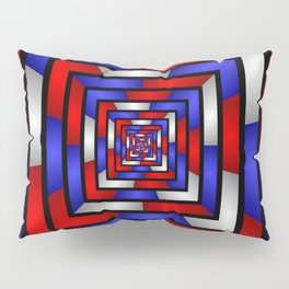 Colorful Tunnel 3 Digital Art Graphic Pillow Sham