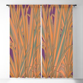 Colorful Agaves Blackout Curtain