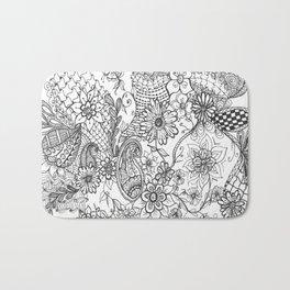 Doodle Garden Bath Mat