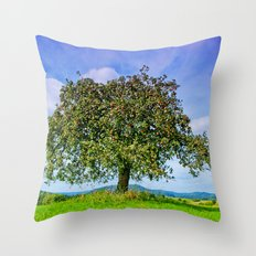 Another appletree Throw Pillow