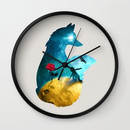 The Most Beautiful Thing (light version) Wall Clock