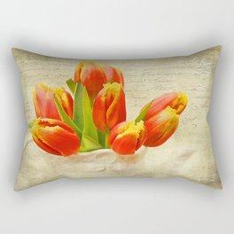 tulipes de ressort Rectangular Pillow