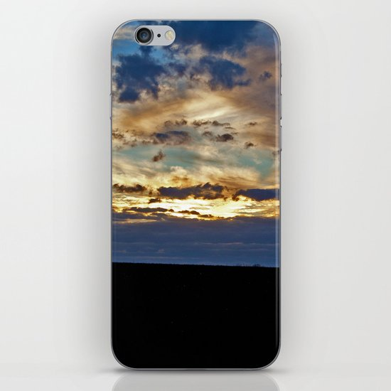 Fire Came Down From Heaven iPhone & iPod Skin