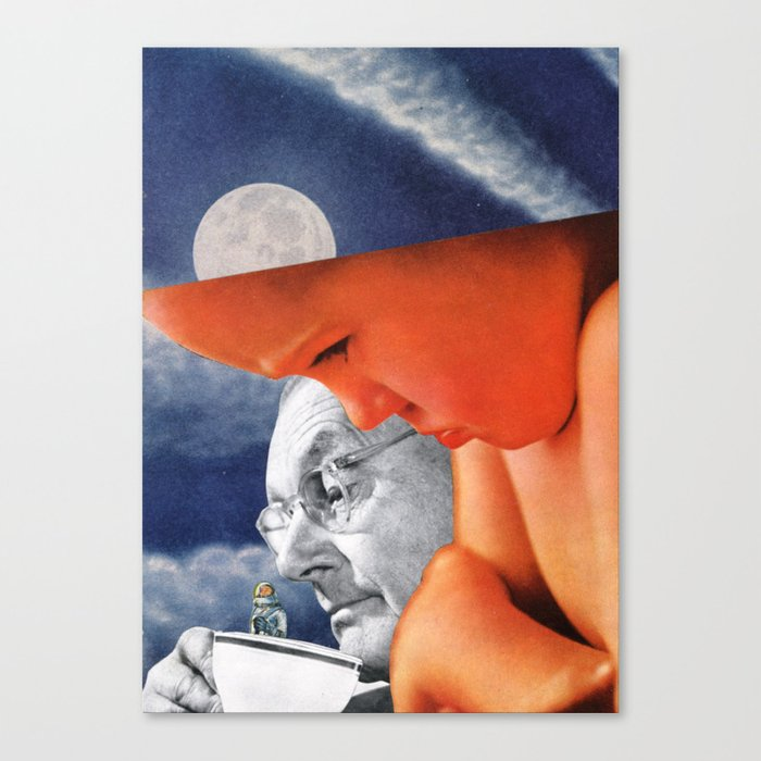 It's Like That,Yes It Is Canvas Print