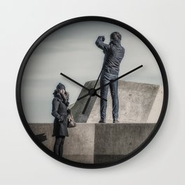 Different Interests Wall Clock