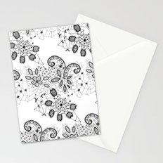 Lace 3 Stationery Cards