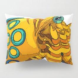 Blue-Ringed Octopus Pillow Sham
