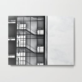 Urban Climb Metal Print