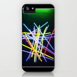 The Glow Sticks iPhone Case