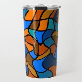 Twirling Tiles Travel Mug