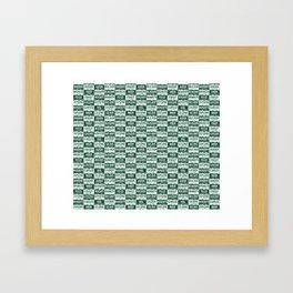 Colorado plates Framed Art Print