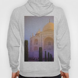 Morning Colors over Taj Mahal Hoody