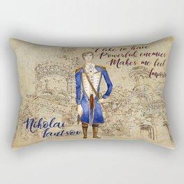Nikolai Lantsov Rectangular Pillow
