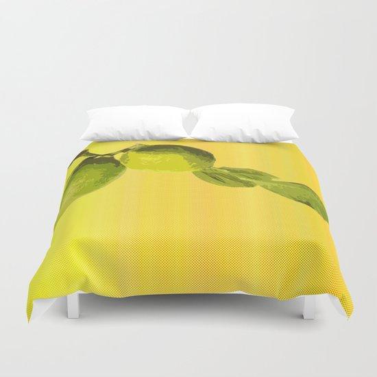 Summer Time Lime Duvet Cover