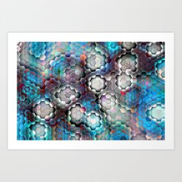 abstract bp Art Print