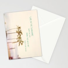 Sunshine, Sea, Air Stationery Cards