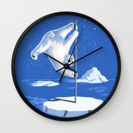 North Pole Dancer Wall Clock