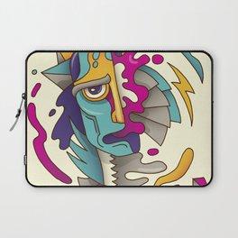 Abstarct Monsta Laptop Sleeve