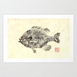 Bluegill 1 Art Print