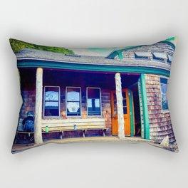 Zealand Hut Rectangular Pillow