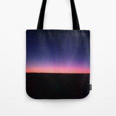 galaxy sunset Tote Bag
