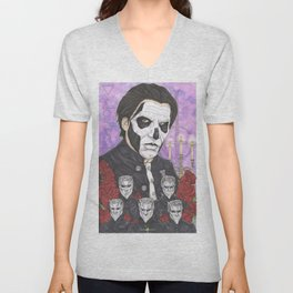 Ghost Papa Emeritus III Unisex V-Neck