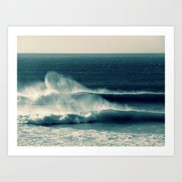 Offshore Waves Art Print