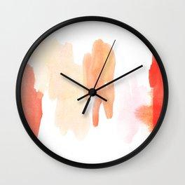 painted abstract  Wall Clock