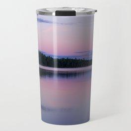 Sunset on Little Loon Travel Mug
