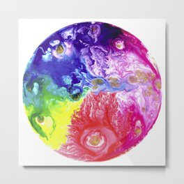 Planets of Pain Metal Print