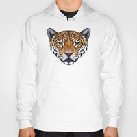 jaguar Hoodies featuring Jaguar by peachandguava