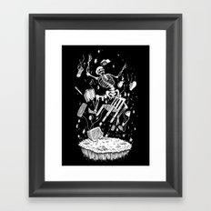 Final Level Framed Art Print
