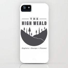 Into the High Weald iPhone Case